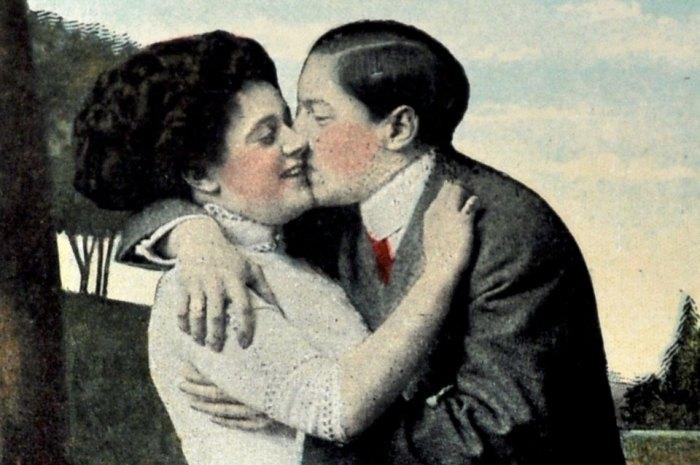 Vintage Postcard Detail
