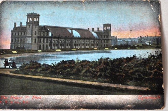 Vintage Postcard Front