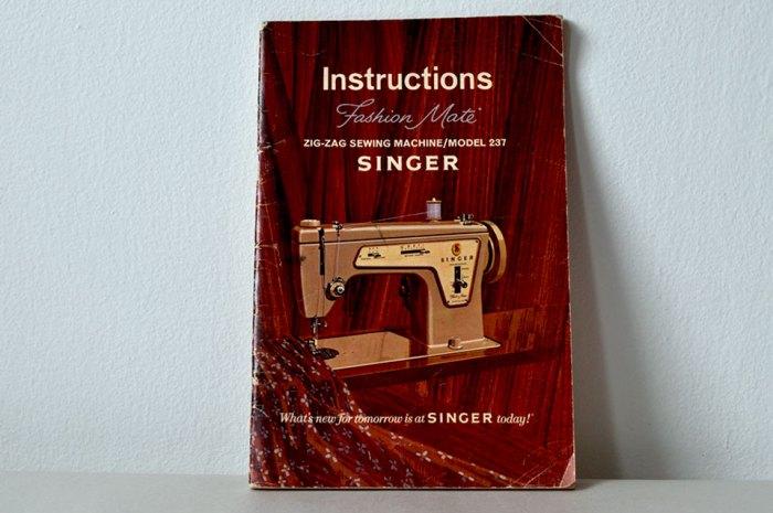 Instructions Singer Manual