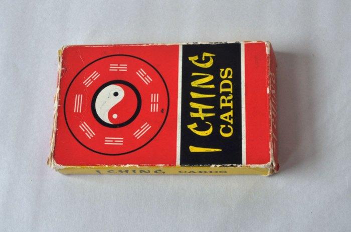 I Ching Cards Box
