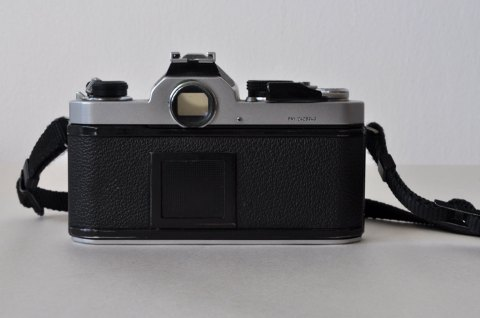 Nikon FM camera from back