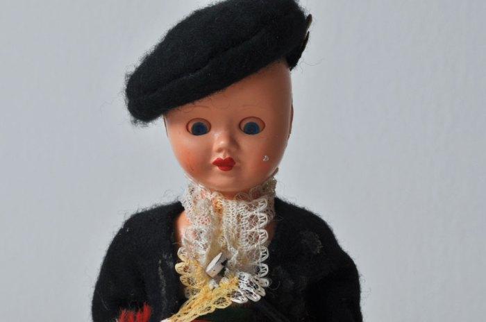 Scottish Doll Face