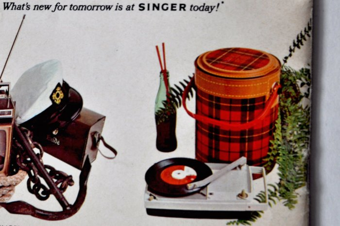 Singer Manual Detail