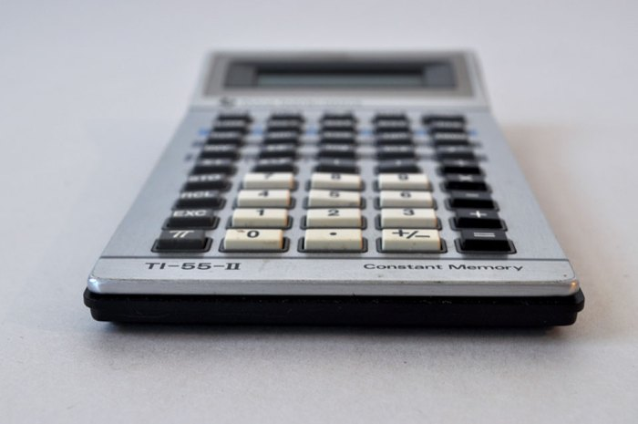 Ti 55 Scientific Calculator