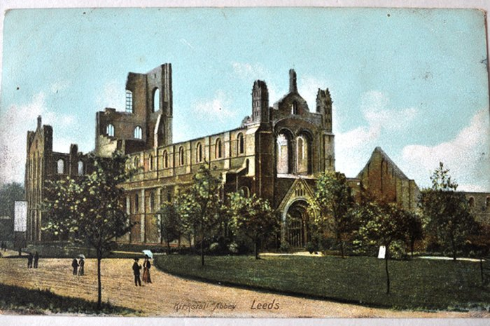 Vintage Postcard from Leeds