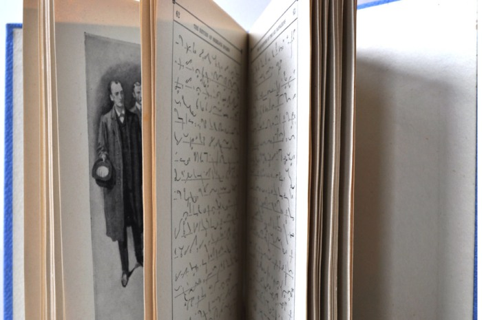 Sherlock Holmes Shorthand