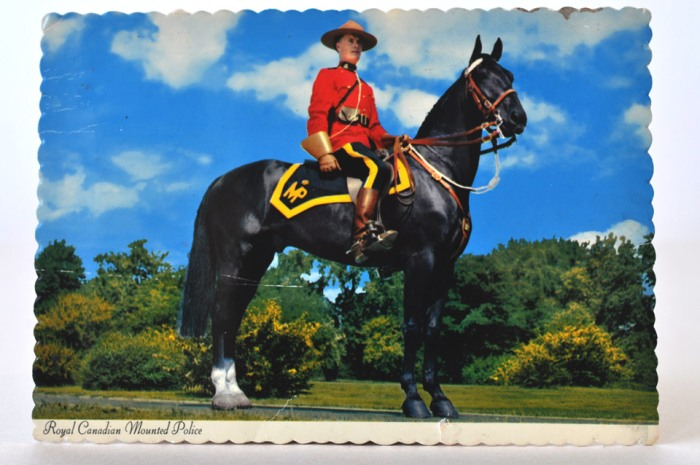 Postcard Mountie