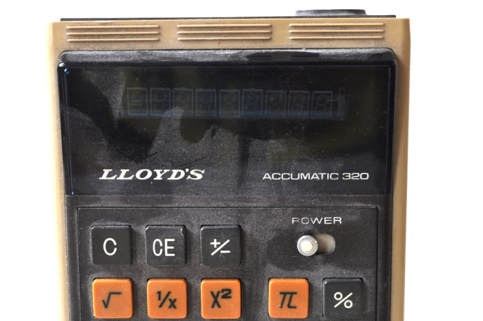 Lloyd's Calculator