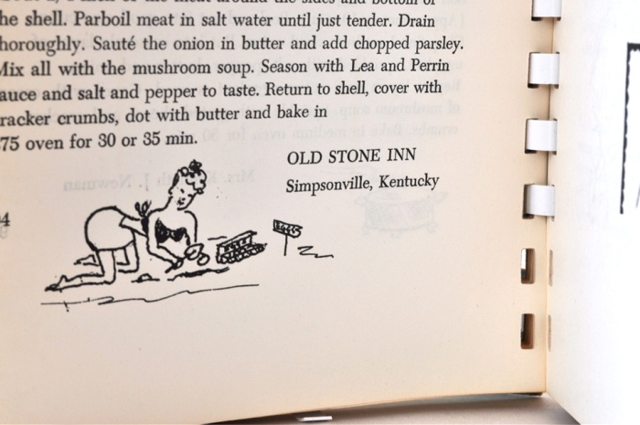 Kentucky Cookbook Page