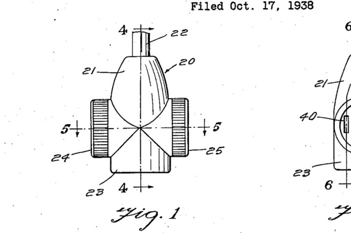 Patent for multiple tap