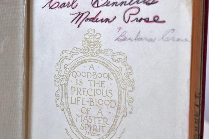 Book of Modern Prose