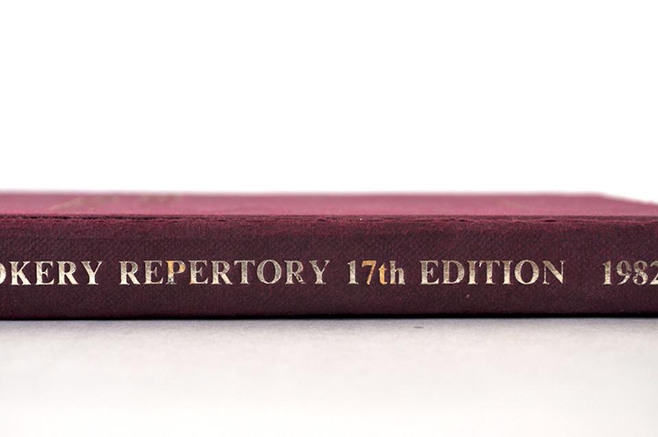 Day 247 le r pertoire de la cuisine cookery repertory for Repertoire de la cuisine