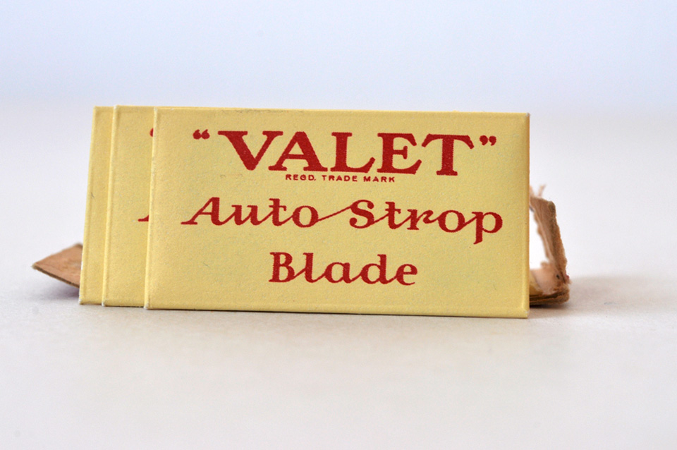 Day 246 Box Of Valet Razor Blades Obsolescence Project
