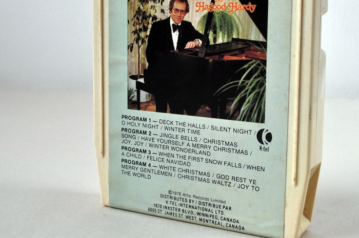 8 track christmas songs