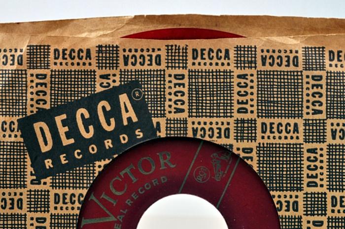 45 Jalousie Decca Record