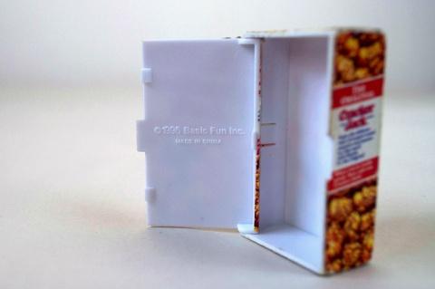 Cracker Jack Box Keychain