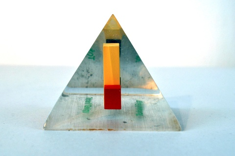 Pyramid Paperweight