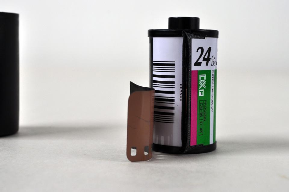 roll of 35 mm film